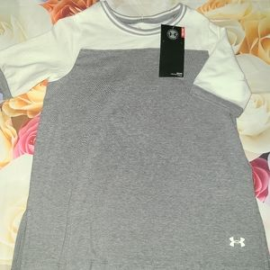 Nwt under armour top shirt youth small girls